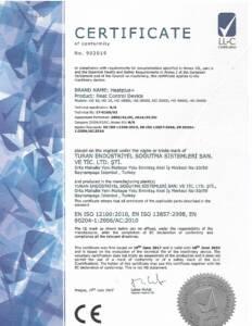CE sertifikası Isıtma